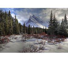 Elbow Pass valley VII Photographic Print