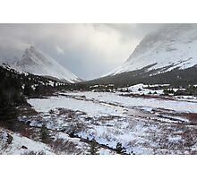 Elbow Pass valley VI Photographic Print