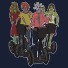 Zombies on Segways by Lee Leplaw Deichmann