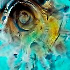 Water and Oil Abstract 1 by Su Walker