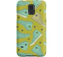 Doodle Ked Shoes Samsung Galaxy Case/Skin