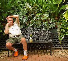 Biltmore  Gardener by Marilyn Cornwell