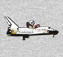 Go, Going, Gone! Space Shuttle! Kids Clothes