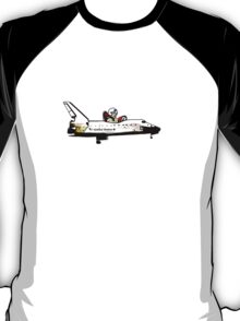 Go, Going, Gone! Space Shuttle! T-Shirt