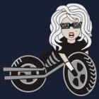 Bike Girl by AlliVanes