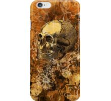 Skull and Flowers 2 iPhone Case/Skin