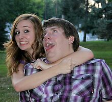 Silly, Silly Engaged Couple! by Origphotobytori