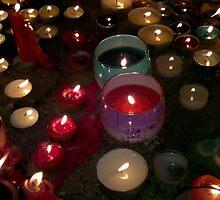 Diwali lights by Monsheil