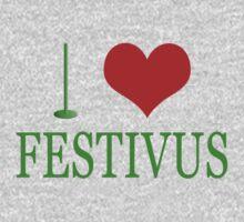 I Love Festivus Kids Clothes