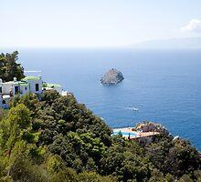 Tuscan coastline by Ian Middleton