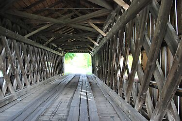 Covered Bridge of Ohio by Sheri Nye