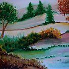 Fall Pasture by Debbie  Adams