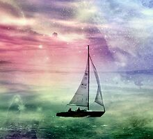 Fantasy Sailing © by Dawn M. Becker