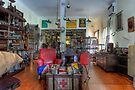 Antiques Shop  Bangalow  New South Wales by William Bullimore