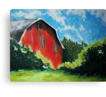 Virginia Barn Canvas Print