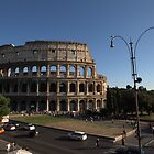 The Roman Colosseum  by Alfredo Estrella