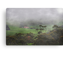 All Fogged In Canvas Print
