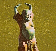 Gleeful BUDDHA on the iPhone by DAdeSimone