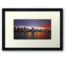 Only Three Minutes Framed Print