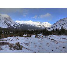 Elbow Pass valley VIII Photographic Print