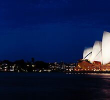 Opera Night, Sydney by Christopher Ashdown