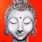 Love of Buddha by whittyart