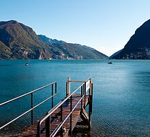 Gandria, Lugano by faithie
