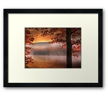 Autumn Atmosphere Framed Print