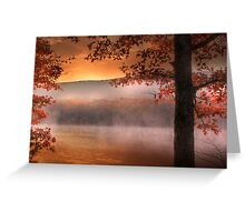 Autumn Atmosphere Greeting Card