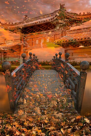 Shengzu Bridge by Delfino
