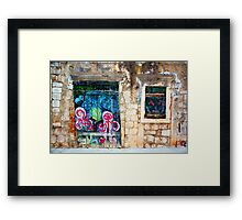 The Essence of Croatia - Forsaken House V Framed Print