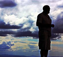 Clouds and the Man by tutulele