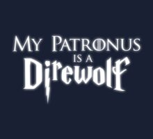 """My Patronus is a Direwolf"" by SevenHundred"