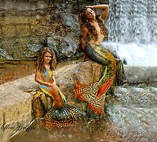 Little Mermaids by Ellen  Griffin