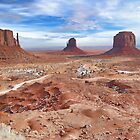 Monument Valley III by HDTaylor