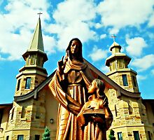 St. Anne (Hannah) - St. Anne's Church, Roswell, Ga by Scott Mitchell
