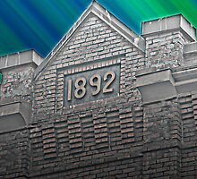 1892 Dreaming of Old Brick Buildings by Daphne Eze