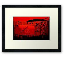 Love Letter/Air Mail Framed Print
