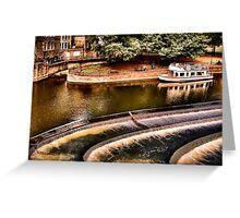 Avon River Falls Greeting Card