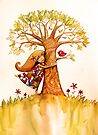 tree hugs by Karin  Taylor