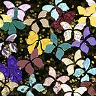 Paper Butterflies - take to flight! by Lisa Frances Judd ~ Original Australian Art