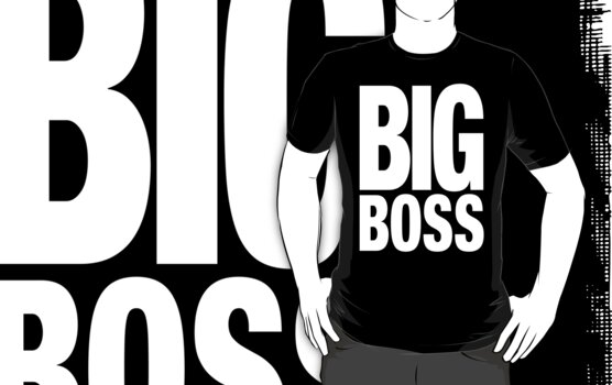 BIG BOSS (White) by Koukiburra