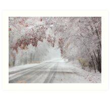 I'm Dreaming of a White Autumn Art Print