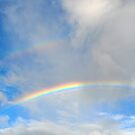 Double Rainbow in the Sky by Coralie Plozza