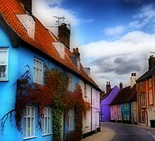 Bridge Street Bungay by Darren Burroughs