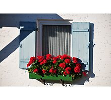 bavarian window Photographic Print