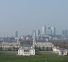 Behind Greenwich Park  by NPetrides