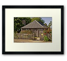 Sharam Cottage, Penola 1850 Framed Print