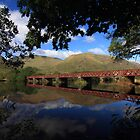 Loch Awe Railway Bridge by Maria Gaellman