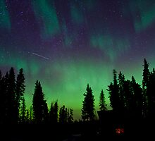 Good Morning Auroras by peaceofthenorth